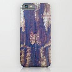 telephone pole grain iPhone 6 Slim Case