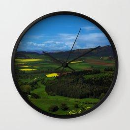 Farming Village Wall Clock