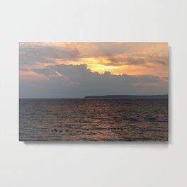 Lake Huron Sunrise Metal Print