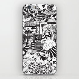 Doughnut City iPhone Skin