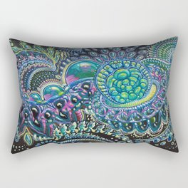 My Dark Companion Rectangular Pillow