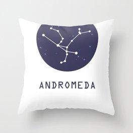 Andromera Constellation Throw Pillow