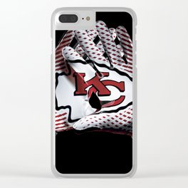 Kansas City Gloves Clear iPhone Case