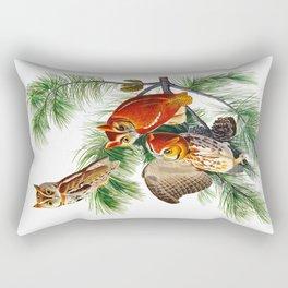 Little Screech Owl Rectangular Pillow