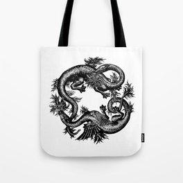 Salamander and Dragon Tote Bag