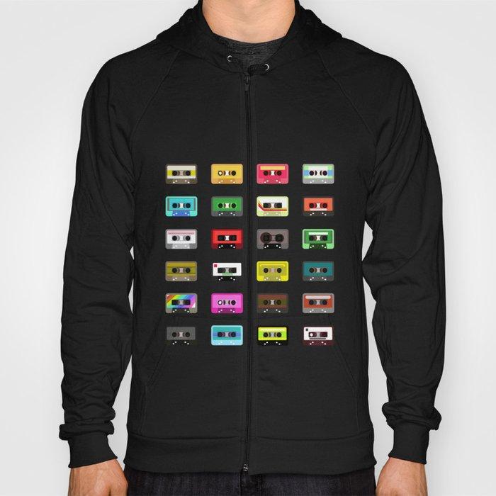 Cassete pattern Hoody