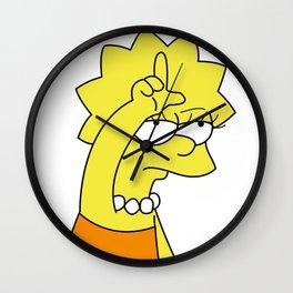 Lisa Simpson Loser Wall Clock