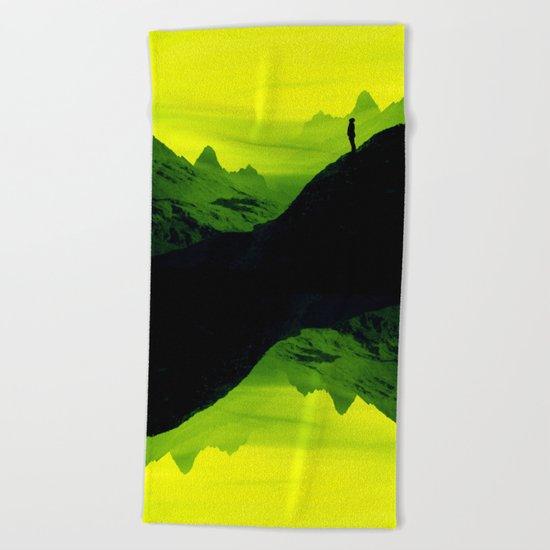 Vibrant Wasteland Beach Towel