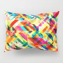 Summertime Geometric Pillow Sham