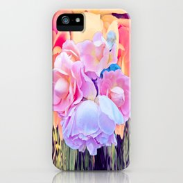 Rose Allures of the 70s iPhone Case