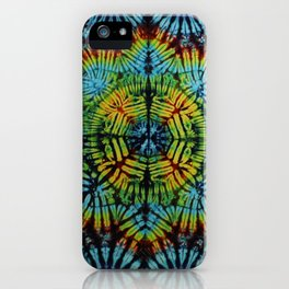 Exhale: A vibrant mix of colors of the rainbow iPhone Case