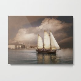 They've All Come To Look For America Metal Print