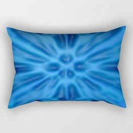 Blue plastification Rectangular Pillow