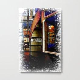 Upstairs Only Metal Print