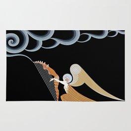 "Art Deco Design ""The Angel"" Rug"