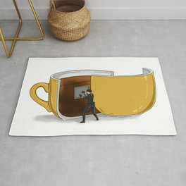 Coffee Confidential Rug