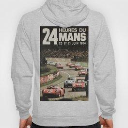 Le Mans poster, 1964, 24hs Le Mans, original vintage poster Hoody