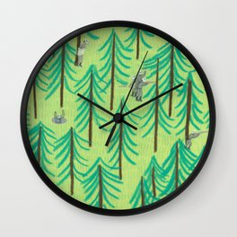 RAMBO Wall Clock