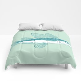 Flying Fish Comforters