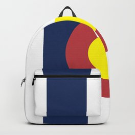 Colorado State Flag, USA Backpack