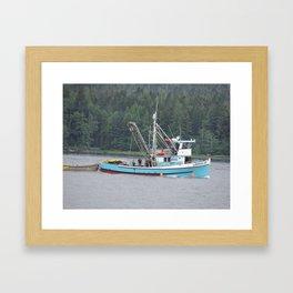 fishing boat 2 Framed Art Print