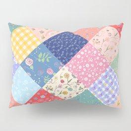 Happy patchwork quilt Pillow Sham