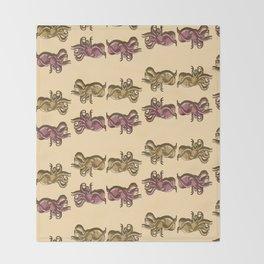 Octopi Throw Blanket