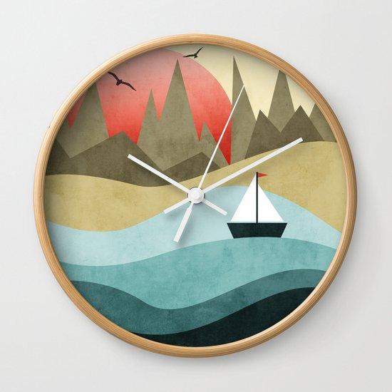 Ocean Adventure 2  Wall Clock