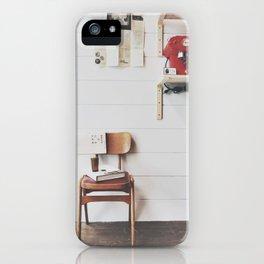 culture chair iPhone Case