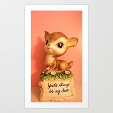 darling deer Art Print