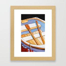 Row Boat Too Framed Art Print
