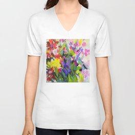 Garden Melody Unisex V-Neck