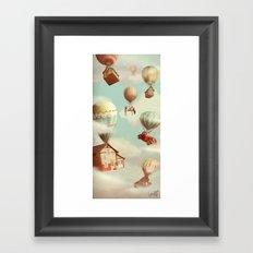 Moving ut Framed Art Print