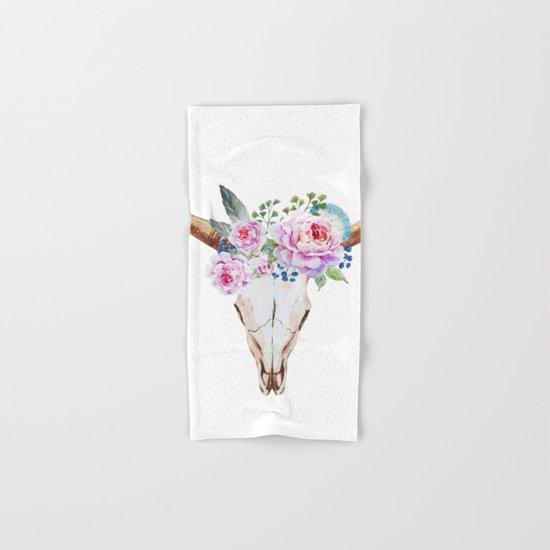 Animal Skull 07 Hand & Bath Towel