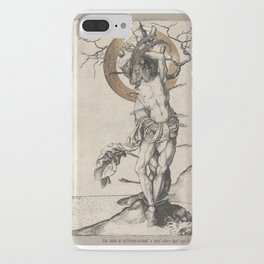 beati martyris - the suffering martyr iPhone Case