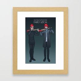 Fairly Local Framed Art Print