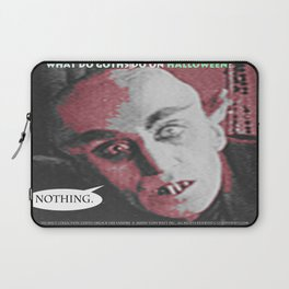 """'Count Orlock, the Vampire #2' from """" Nosferatu vs. Father Pipecock & Sister Funk (2014)"""" Laptop Sleeve"""