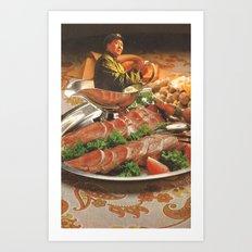 Salsa de Mao Art Print