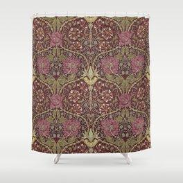 William Morris,Art Nouveau,Vintage pattern, floral victorian pattern, Shower Curtain