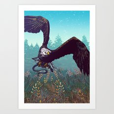 The Hunt Art Print
