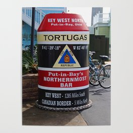 Put-in-Bay's Northernmost Bar- vertical Poster