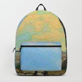 Watercolor Dream of Paris Backpack