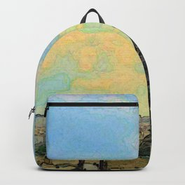 Watercolor Dream of Paris Backpack