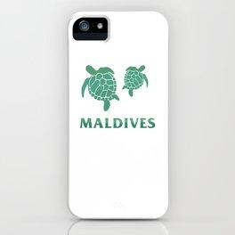 Maldives - Summer Tourist Destination iPhone Case