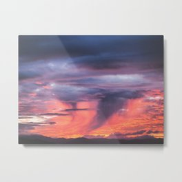 Coromandel Sunset Metal Print
