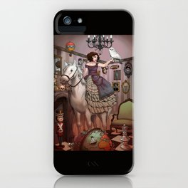 The Victorian Room iPhone Case