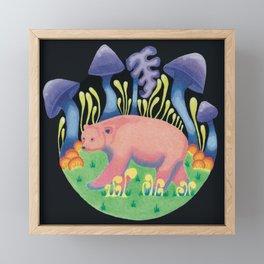 Forest Spirit: Kermode Bear Framed Mini Art Print