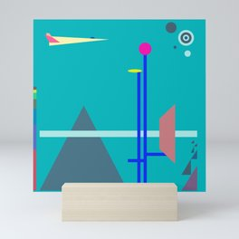 Two Sequences, Pyramid, Tower and Target Mini Art Print