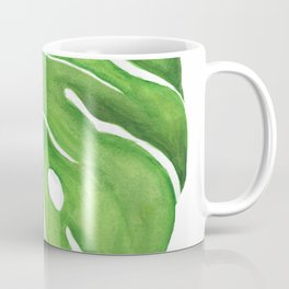 Philodendron Monstera Deliciosa Coffee Mug