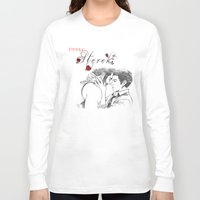 eternal sunshine of the spotless mind Long Sleeve T-shirts featuring Eternal Sterek by MGNemesi